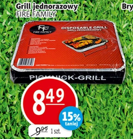 Grill Fire Family