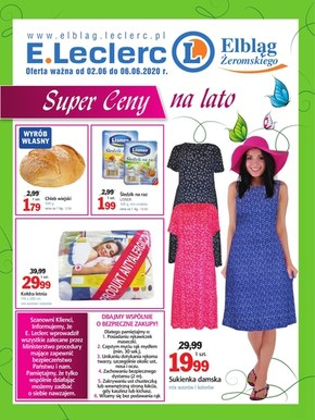 Super ceny na lato w E.leclerc Elbląg