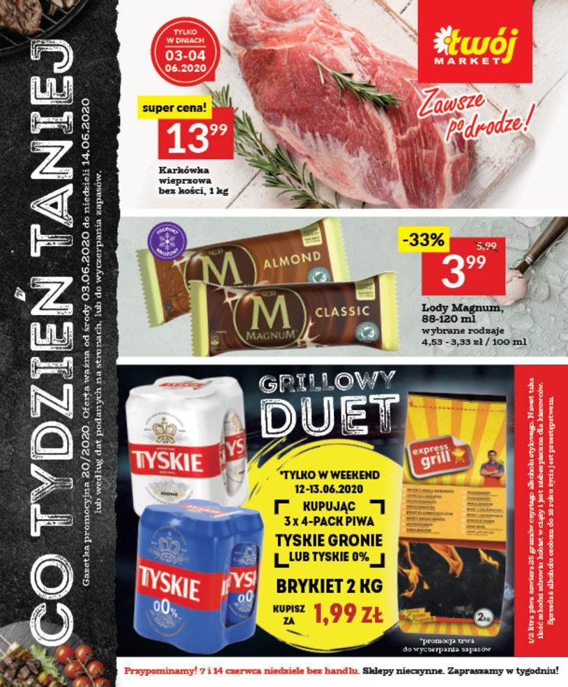 Gazetka promocyjna Twój Market - ważna od 03. 06. 2020 do 14. 06. 2020