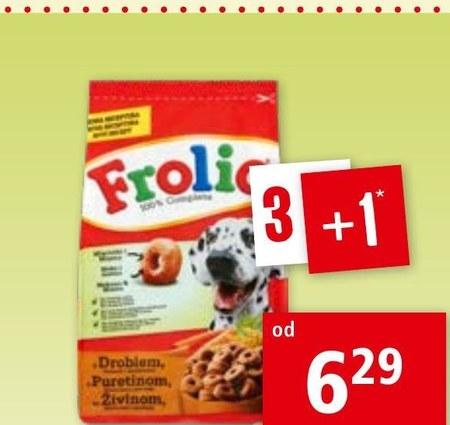 Karma dla psa Frolic