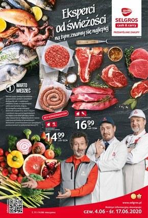 Świeże produkty w Selgros!