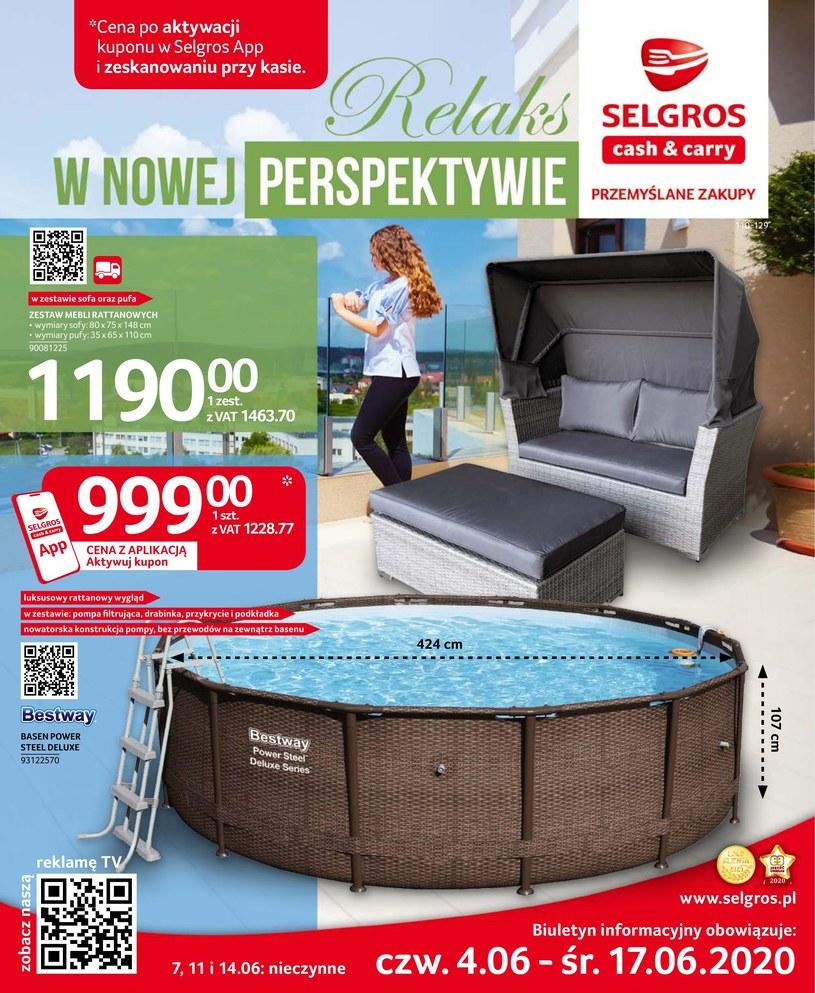 Gazetka promocyjna Selgros Cash&Carry - ważna od 04. 06. 2020 do 17. 06. 2020