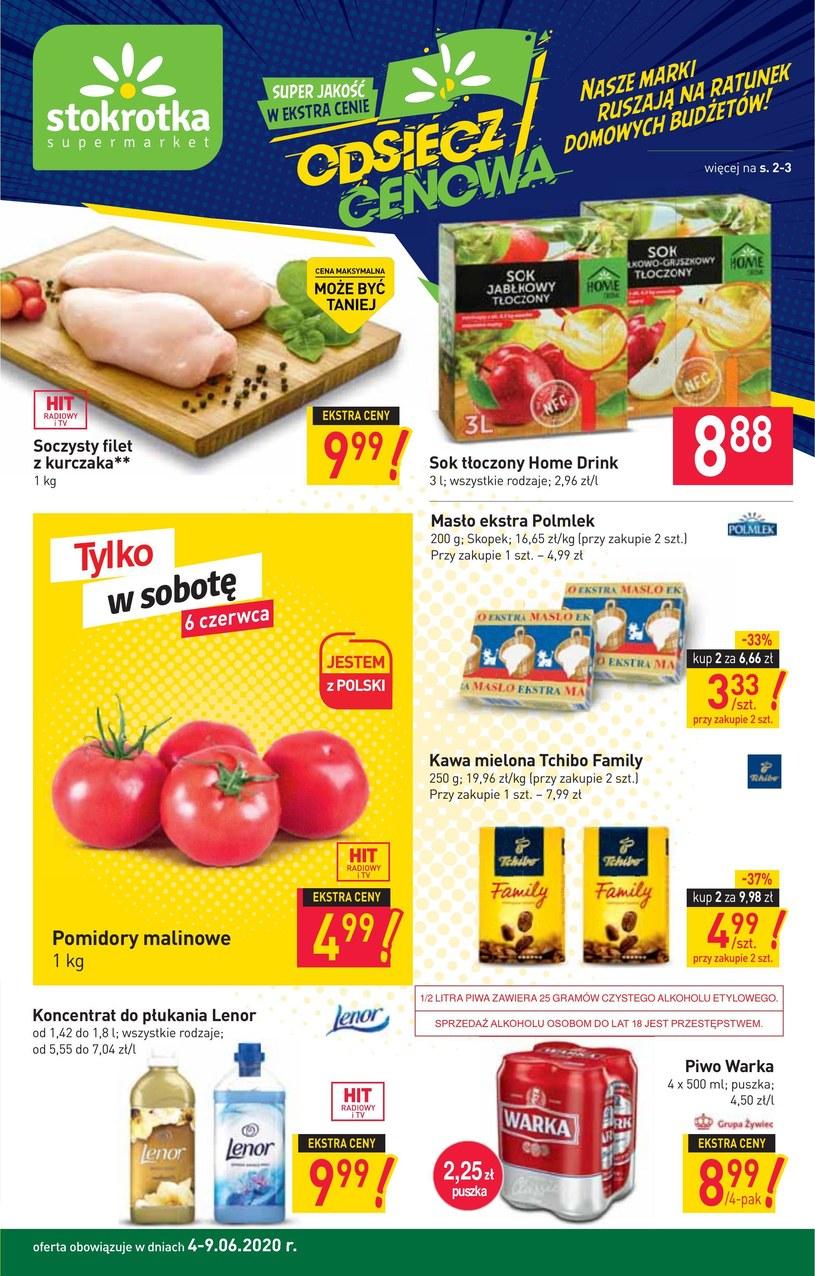 Gazetka promocyjna Stokrotka Supermarket - ważna od 04. 06. 2020 do 09. 06. 2020