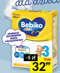 Mleko modyfikowane Bebiko niska cena