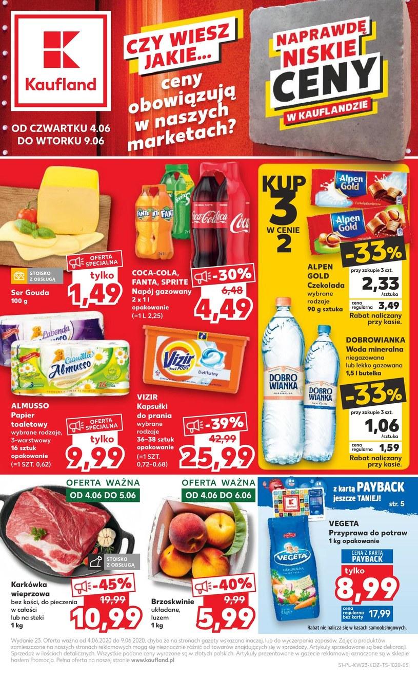 Gazetka promocyjna Kaufland - ważna od 04. 06. 2020 do 09. 06. 2020