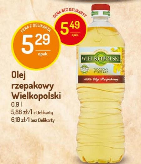 Olej rzepakowy Wielkopolski