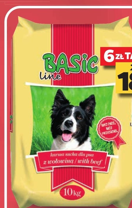 Karma dla psa Basic Line