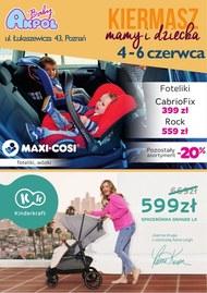 Kiermasz mamy i dziecka w Akpol Baby Poznań