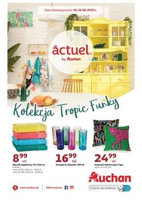 Kolekcja Tropik Funky w Auchan