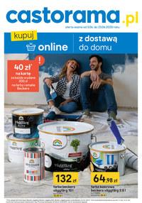 Gazetka promocyjna Castorama - Kupuj online z dostawą do domu w Castorama! - ważna do 23-06-2020