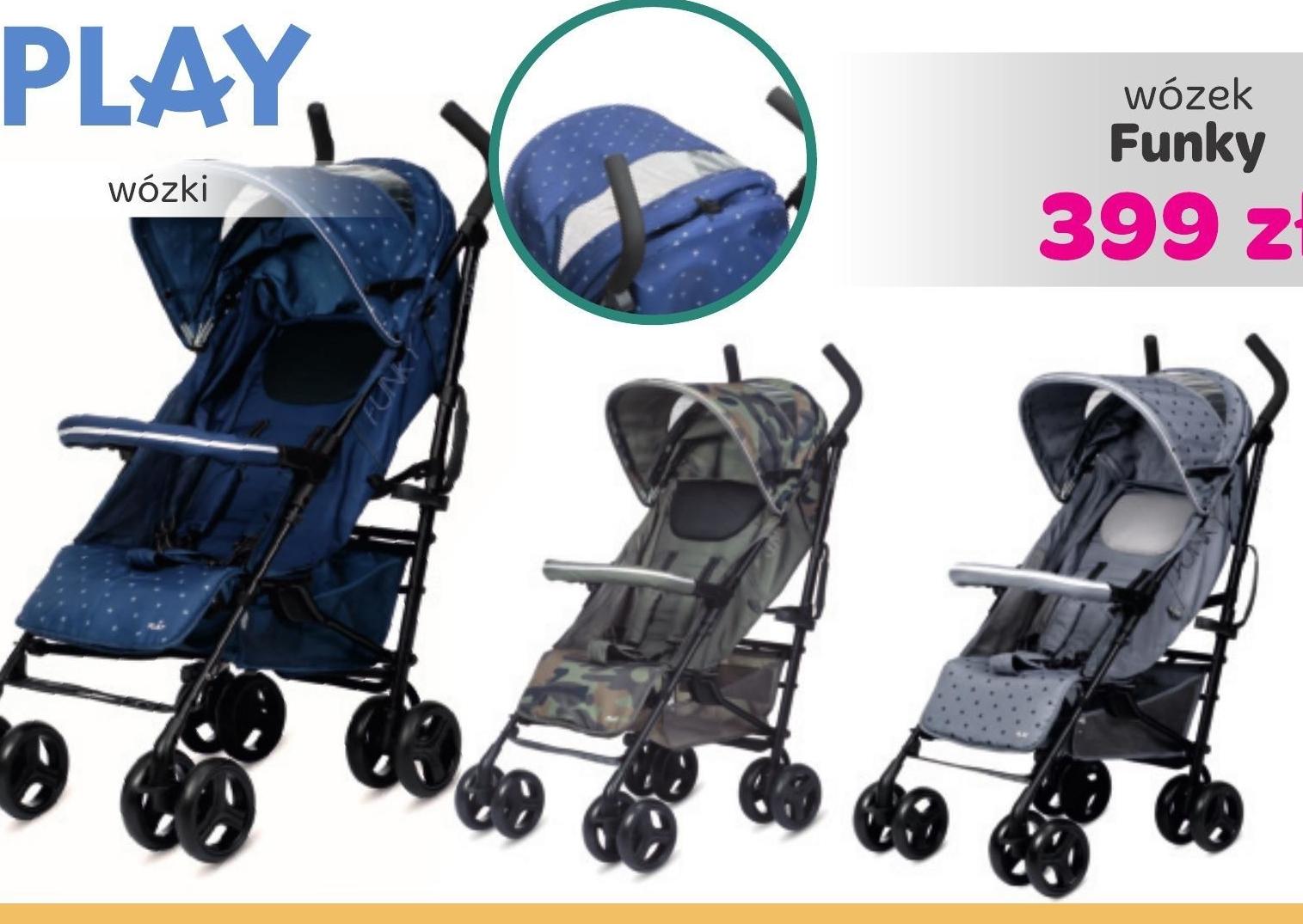 Wózek dziecięcy Play niska cena