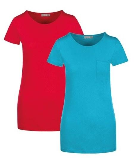 T-shirt damski Textil Market