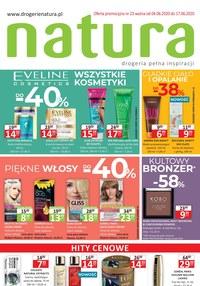 Gazetka promocyjna Drogerie Natura - Promocje w Drogeriach Natura - ważna do 17-06-2020