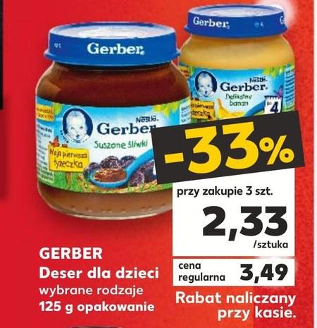 Deser dla dziecka Gerber