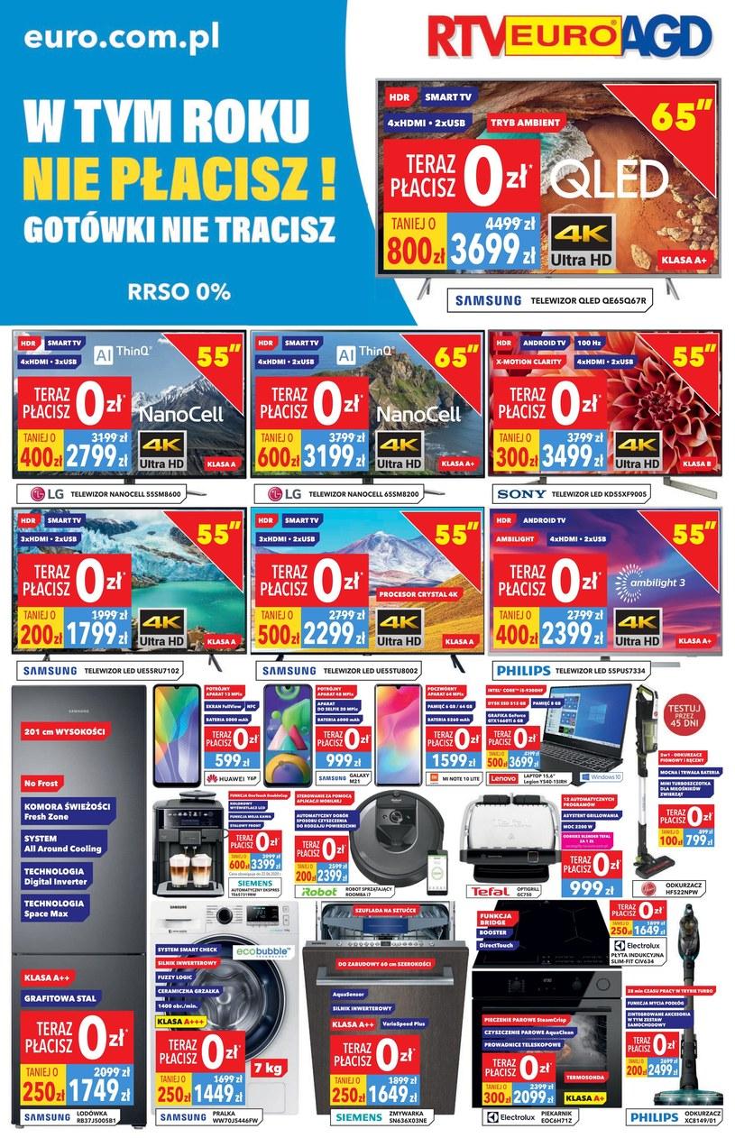 Gazetka promocyjna RTV EURO AGD - ważna od 05. 06. 2020 do 09. 07. 2020