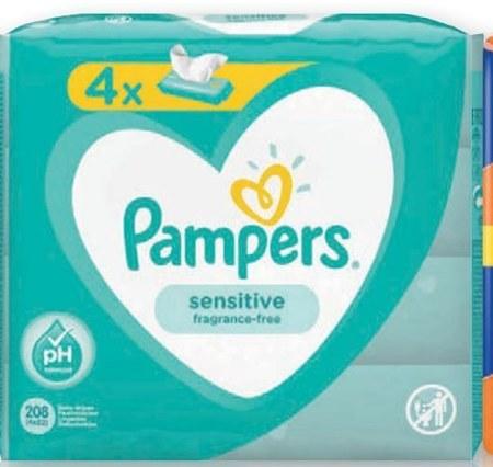 Chusteczki dla niemowląt Pampers