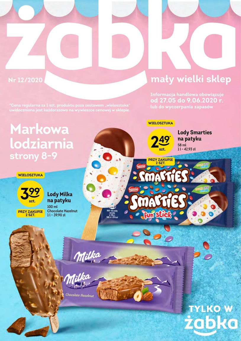 Gazetka promocyjna Żabka - ważna od 27. 05. 2020 do 09. 06. 2020
