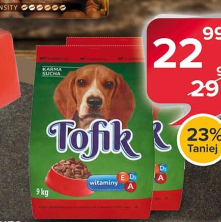 Karma dla psa Tofik