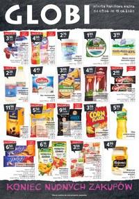 Gazetka promocyjna Globi - Globi - koniec nudnych zakupów - ważna do 15-06-2020