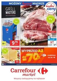 Gazetka promocyjna Carrefour Market - Carrefour Market - gazetka promocyjna - ważna do 20-06-2020