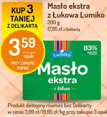 Masło Lumiko