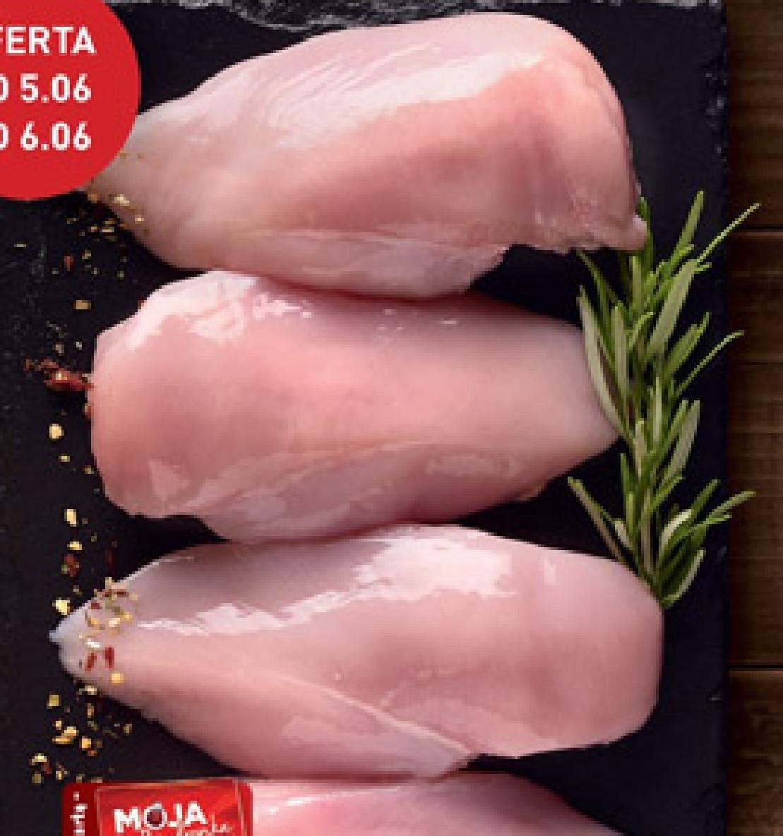Filet z piersi kurczaka Kraina Mięs niska cena