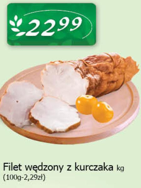 Filet wędzony z kurczaka System Drob