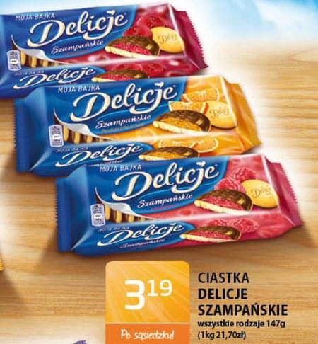 Ciastka Delicje Szampańskie