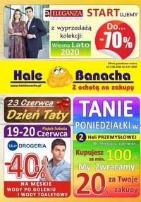 Gazetka promocyjna Hala Banacha - Hala Banacha startuje z wyprzedażą!  - ważna do 08-07-2020