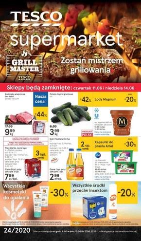 Promocje w Tesco Supermarket