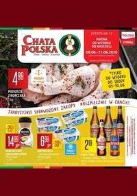 Gazetka promocyjna Chata Polska - Chata Polska - tradycyjnie sprawdzone zakupy - ważna do 21-06-2020