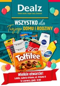 Gazetka promocyjna Dealz - Wielkie otwarcie Dealz w Lublinie!  - ważna do 12-06-2020