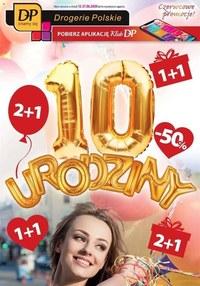Gazetka promocyjna Drogerie Polskie - 10 urodziny w Drogerii Polskiej! - ważna do 27-06-2020
