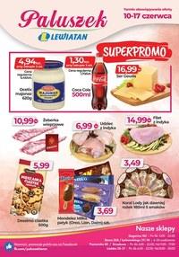 Gazetka promocyjna Paluszek - Superpromocje w Paluszku!  - ważna do 17-06-2020