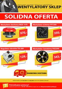 Gazetka promocyjna WentylatorySklep.pl - Solidna oferta - Wentylatory Sklep