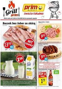Gazetka promocyjna Prim Market - Grilluj z Prim Market! - ważna do 17-06-2020