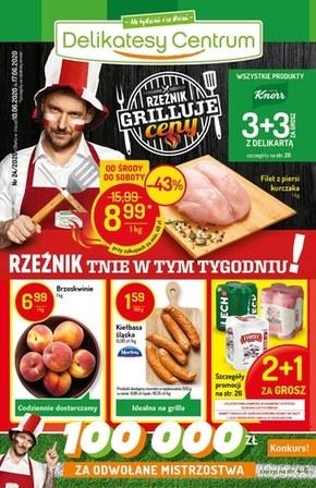 Delikatesy Centrum - gazetka promocyjna