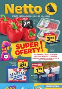 Gazetka promocyjna Netto - Super oferty w Netto - ważna do 20-06-2020