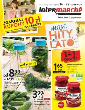 Intermarche - maxi hity na lato