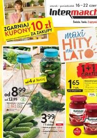 Gazetka promocyjna Intermarche Super - Intermarche - maxi hity na lato - ważna do 22-06-2020