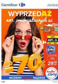 Gazetka promocyjna Carrefour - Carrefour - wyprzedaż artykułów przemysłowych - ważna do 28-06-2020