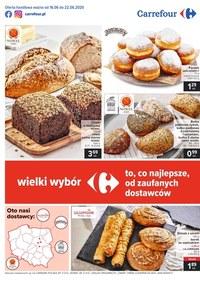 Gazetka promocyjna Carrefour - Wielki wybór w Carrefour - ważna do 22-06-2020