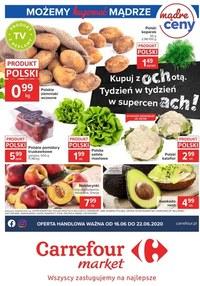 Gazetka promocyjna Carrefour Market - Oferta handlowa Carrefour Market - ważna do 22-06-2020