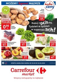 Gazetka promocyjna Carrefour Market - Kupuj z ochotą - Carrefour Market - ważna do 22-06-2020
