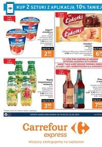 Gazetka promocyjna Carrefour Express - Carrefour Express - oferta handlowa - ważna do 22-06-2020