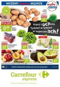 Gazetka promocyjna Carrefour Express - Super ceny w Carrefour Express - ważna do 22-06-2020