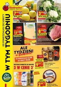 Gazetka promocyjna Biedronka - Najnowsze promocje w Biedronce - ważna do 20-06-2020