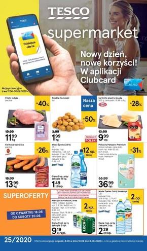 Jeszcze więcej okazji w Tesco Supermarket!