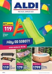 Gazetka promocyjna Aldi - Hity od Soboty w Aldi!  - ważna do 27-06-2020
