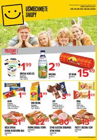 Gazetka promocyjna Uśmiechnięte zakupy - Oferta handlowa Uśmiechnięte Zakupy - ważna do 28-06-2020